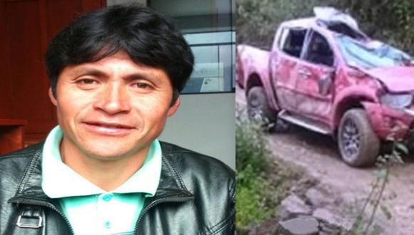 Tragedia en Áncash: Alcalde de Rapayán muere tras volcarse camioneta en la que viajaba.