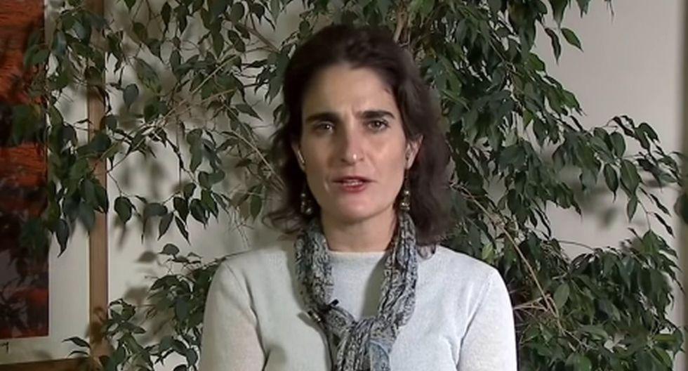 La ministra del Trabajo de Chile, María José Zaldívar, se pronunció sobre el retiro del 10% de los fondos de AFP en medio de coronavirus. (Captura de video/YouTube).