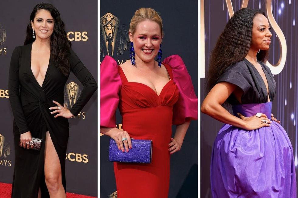 Las celebridades de la industria del entretenimiento brillaron con sus mejores look en la alfombra roja de los premios de la Academia de Televisión de Estados Unidos. (Foto: @televisionacad / cbstv)