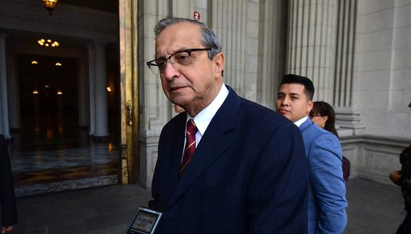 "Daniel Mora: ""En Acción Popular están con tremendos pleitos por ambición de poder"""