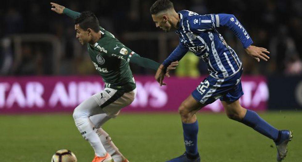 Godoy Cruz vs. Palmeiras: chocan por el pase a cuartos de final de la Copa Libertadores. (Foto: AFP)