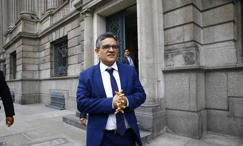 Fiscal José Domingo Pérez asegura que PPK violó reglas de conducta. (GEC)