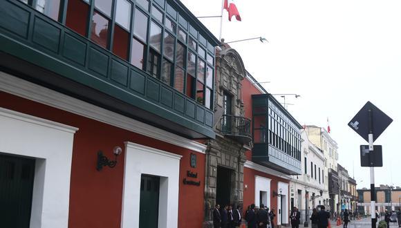 El TC verá este martes 3 de noviembre demanda de amparo interpuesta por Oscar Ugarteche Galarza contra el Reniec. (Foto: ALBERTO VALDERRAMA/GEC)