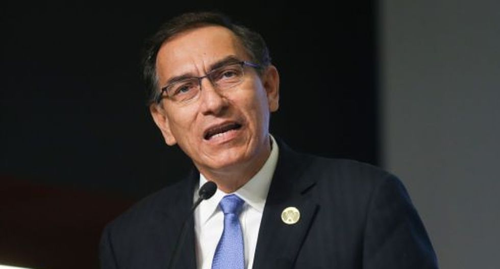 """El presidente Martín Vizcarra sostuvo que su relación personal con Mercedes Araoz """"no está rota"""". (Foto: Presidencia Perú)"""