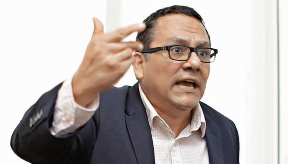 """Víctor Andrés Ponce: """"El gobierno aparece más frágil y débil que nunca"""" (MarioZapata/Perú21)"""