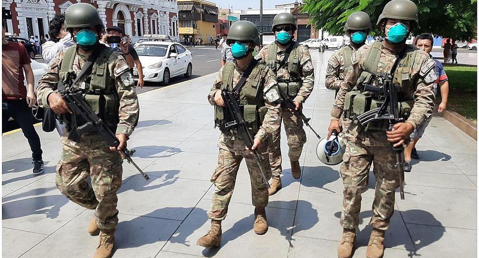 Ejército Peruano: Piden acatar Estado de Emergencia (VIDEO)