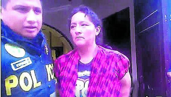 Junín: el crimen se registró el último 20 de setiembre del 2019, cuando la fémina atacó a su víctima luego de que este acabara la relación sentimental. (Foto: PNP)