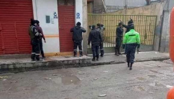 Puno: Policía muere tras caerle balazo en la cabeza durante enfrentamiento armado con ladrones (Foto: PNP)