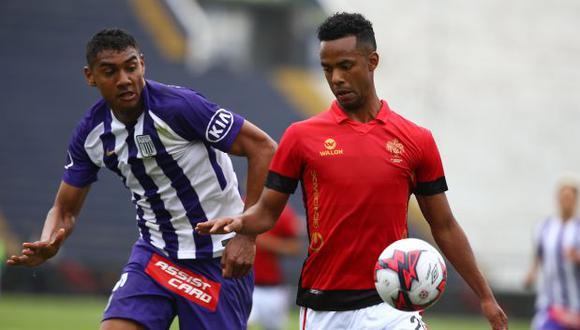 Alianza Lima y Melgar jugará el domingo la primera semifinal en Matute. (Foto: Jesús Saucedo / GEC)