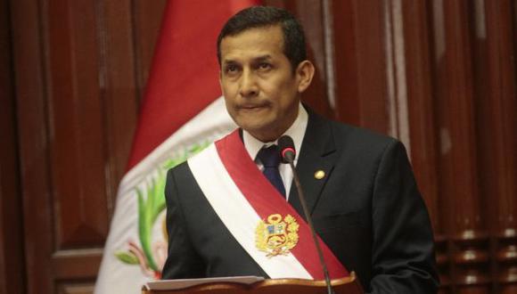 PRIMER AÑO. Humala quiere imprimir nuevo estilo este 28 de julio. (Perú21)