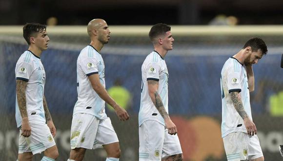Walter Casagrande criticó el bajo rendimiento de Argentina. (Foto: AFP)
