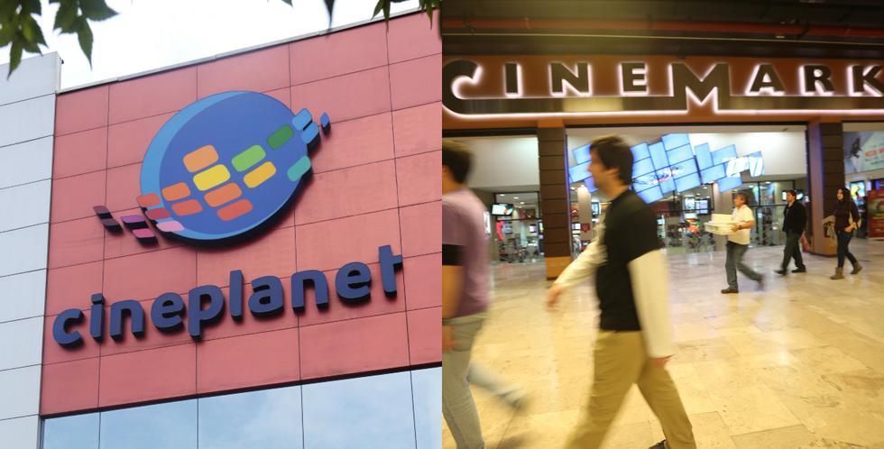 Cineplanet y Cinemark alistan su regreso. (Foto composición: GEC)