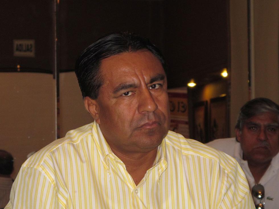 Willy Serrato tuvo un primera gestión en la alcaldía de Olmos de 2011 al 2014.