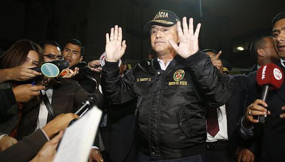 Alan García arremetió contra el ministro Urresti por ola de delincuencia y sicariato en Miraflores. (USI)