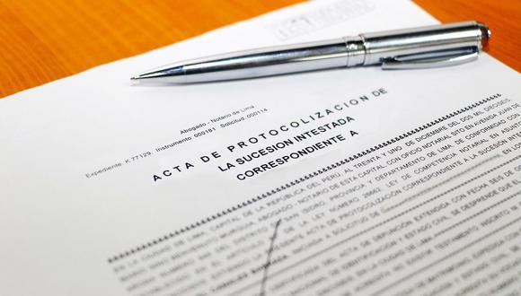 La sucesión intestada es el proceso por el cual se puede acceder a la herencia de una persona que no dejó un testamento. (Foto: Sunarp)