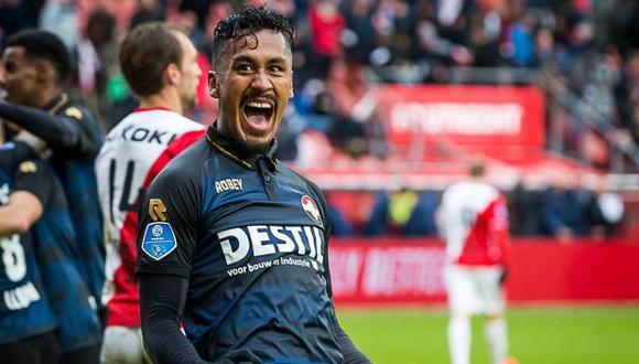 Renato Tapia jugará en Willem II hasta el final de temporada. (Foto: Willem II)