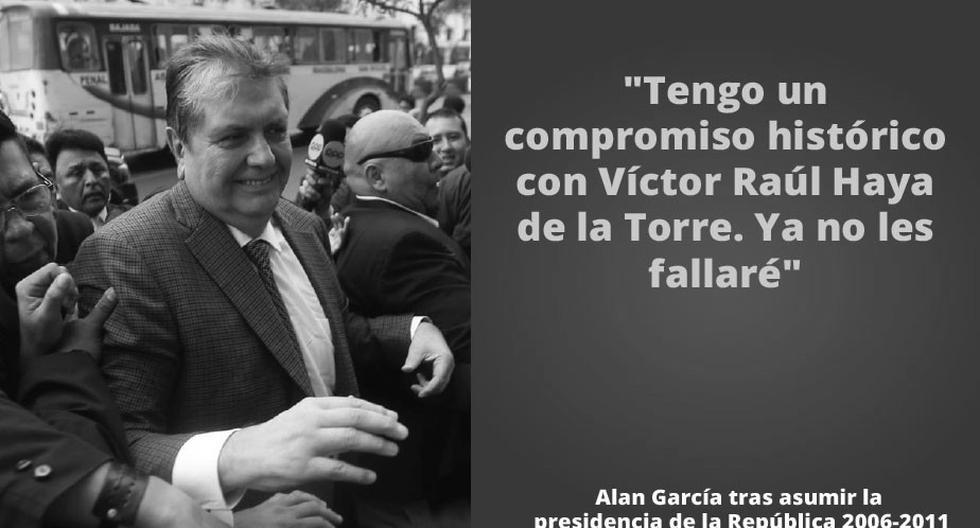 Las frases más recordadas del ex presidente Alan García. (GEC)