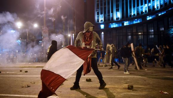 Las protestas se realizaron en el mes de noviembre y se registró la muerte de dos personas. (Foto: AFP)