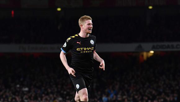 Manchester City vs. Leicester se enfrentan en la jornada 18 de la Premier League. (Foto: AFP)