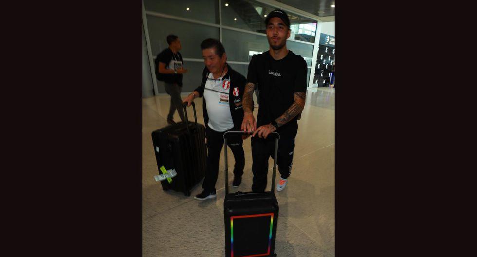 Cristian Benavente, Miguel Trauco, Sergio Peña y Renato Tapia llegaron a Estados Unidos. (Foto: Daniel Apuy - GEC)