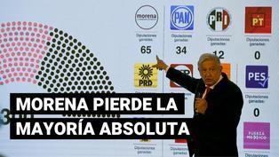 Manuel López Obrador: partido de presidente mexicano perdió su mayoría absoluta en Cámara de Diputados