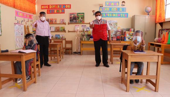 Minedu modificó la norma técnica sobre retorno a clases presenciales en medio de la pandemia por el COVID-19. (Foto: Minedu)