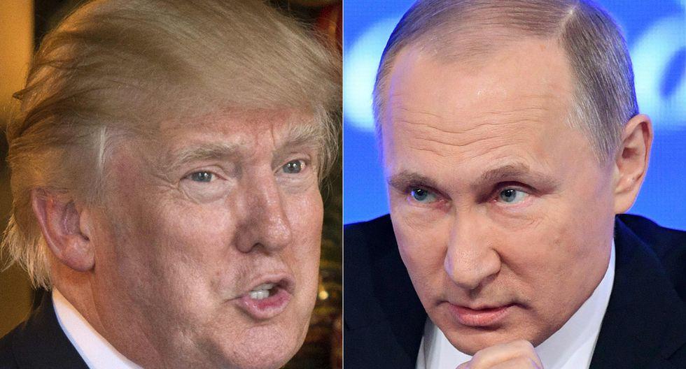 El presidente de los EE.UU. dio una confusa afirmación sobre Vladimir Putin. (Foto: AFP)