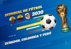 Perú podría organizar el Mundial 2030 junto a Ecuador y Colombia