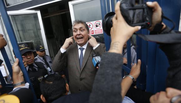 Gobierno de Uruguay rechazó pedido de asilo del ex presidente Alan García. (Mario Zapata)