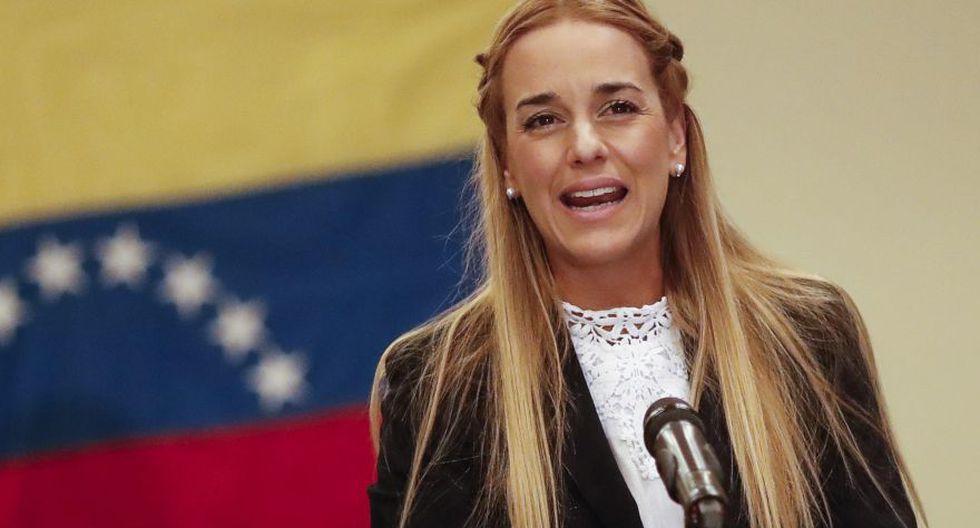 Lilian Tintori, esposa del opositor venezolano Leopoldo López, se encuentra en España. (EFE)