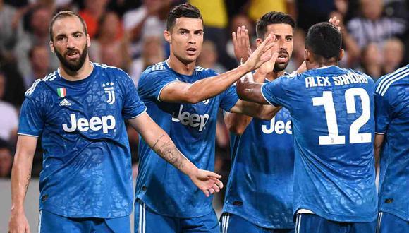Juventus vs. Parma se miden por la Serie A. (Foto: AFP)