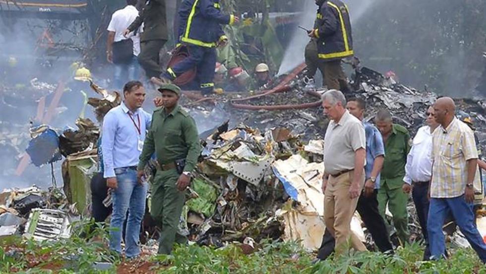 "Presidente de Cuba sobre accidente aéreo: ""Parece que hay un alto número de víctimas"" (AFP)"