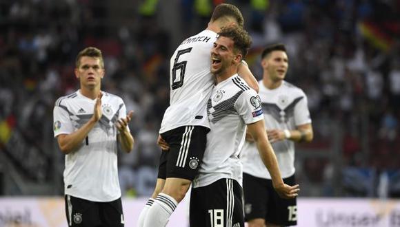 Alemania goleó 7-0 a Estonia y sigue firme en su lucha por llegar a la Eurocopa 2020. (Foto: AFP)
