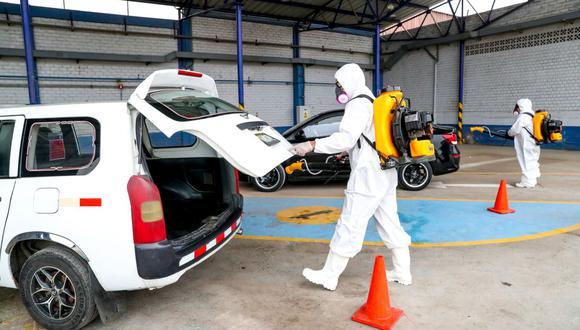 ATU indicó que el tiempo estimado de la desinfección de un vehículo es de 8 minutos. (ATU)