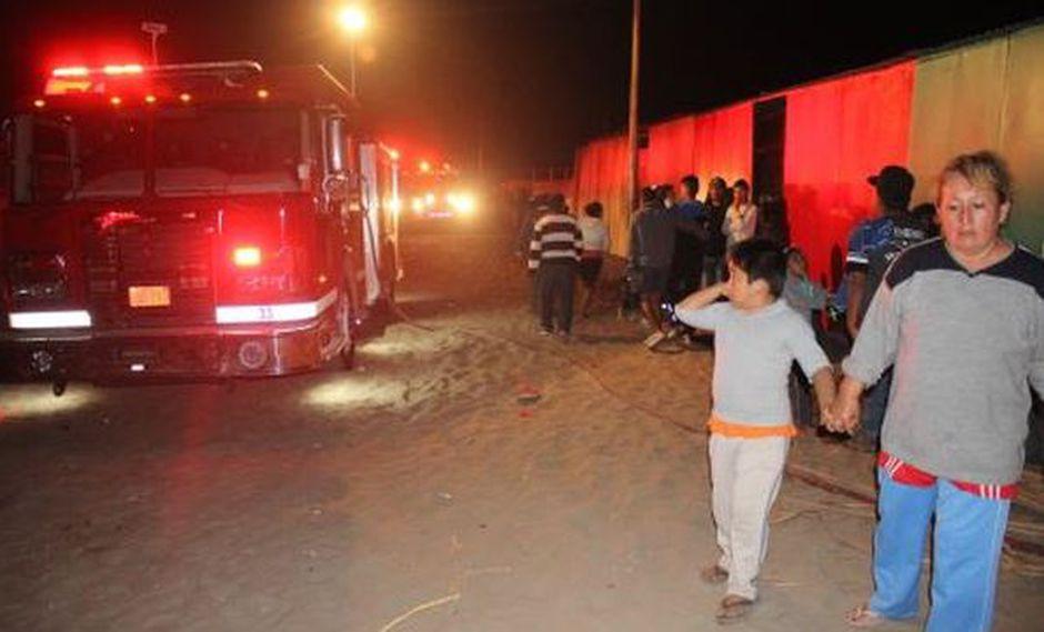 Las autoridades continúan investigando cuáles fueron las causas del incendio. (Foto: Andina)