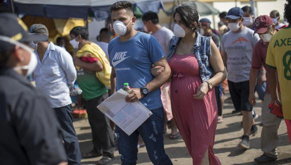La Campaña del BCP ha permitido atender a más de 129 mil familias vulnerables de todo el país. (Fotos: Anthony Niño de Guzman \ GEC)