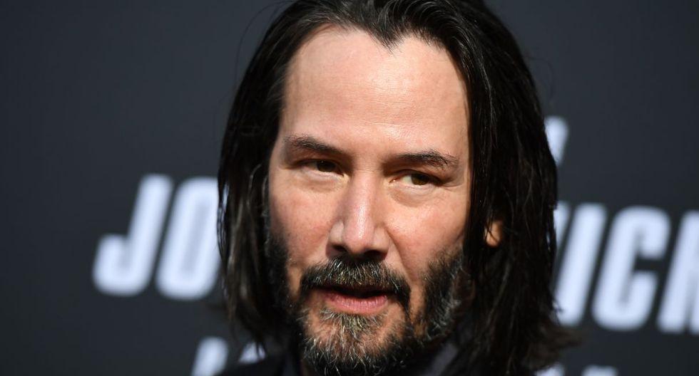 """Keanu Reeves se gana el corazón de todos con tierno gesto a fan durante el rodaje de """"Bill & Ted"""". (Foto: AFP)"""