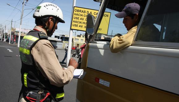 Municipalidad del Callao extiende amnistía para el pago de papeletas hasta el 31 de mayo. (Perú21/Referencial)