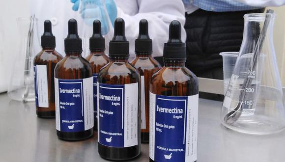 La EMA desaconsejó la utilización de la ivermectina contra el COVID-19. (Foto: Andina)