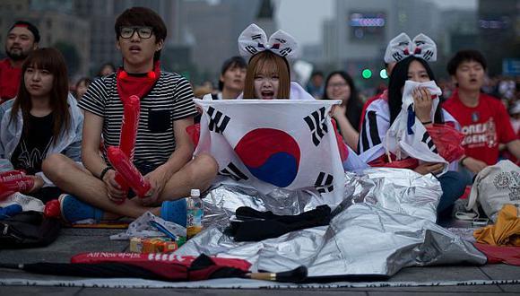 La mayoría de las parejas surcoreanas tienden estos días a tener solo uno o dos hijos. (AFP)