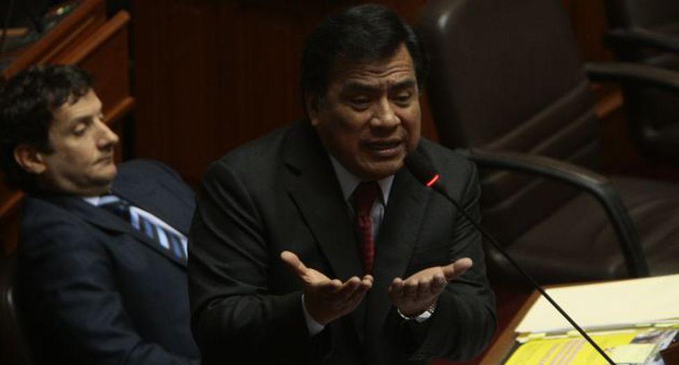 """Informe nos avergüenza a legisladores"", sostiene. (Rafael Cornejo)"
