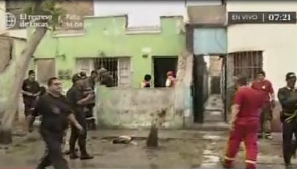 Madre e hijo pierden la vida tras incendio de su vivienda en La Perla.