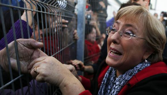 Michelle Bachelet gana por segunda vez la Presidencia de Chile. (Reuters)