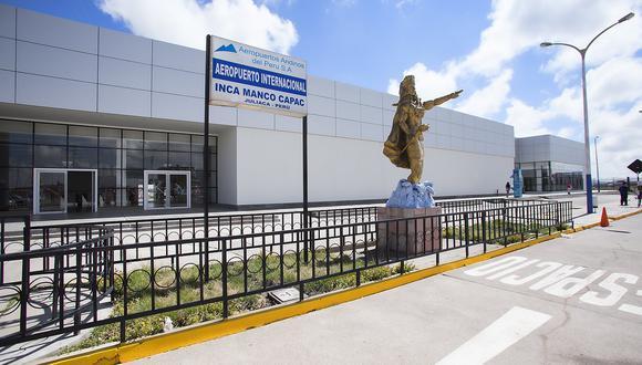 Aeropuertos de Juliaca y Tacna cesan vuelos comerciales por regreso de cuarentena (Foto: archivo GEC)