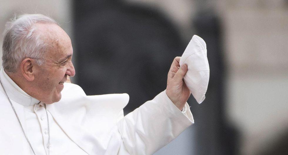 """El Papa aseguró que llegaría como """"peregrino de la paz y la fraternidad"""" y para encontrarse con migrantes """"que representan un llamado a construir juntos un mundo más justo y más solidario"""". (Foto: EFE)"""
