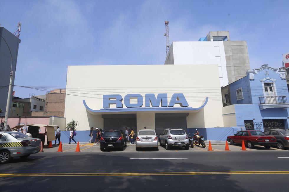 En el Cine Roma se formaban largas filas para ver películas como 'Star Wars' y 'Terremoto' (Mario Zapata/Perú21).