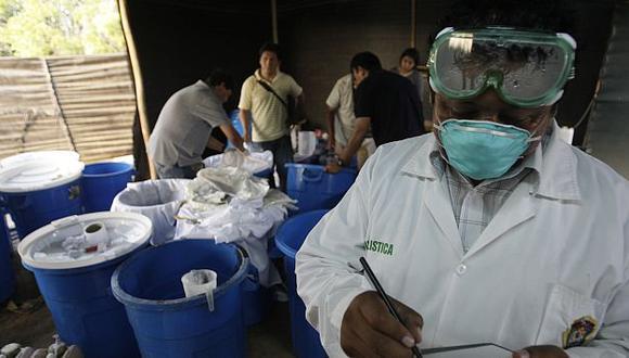 Los mayoristas traen la pasta básica de las zonas de producción y la mezclan con yeso para venderla más cara. (A. Orbegoso)