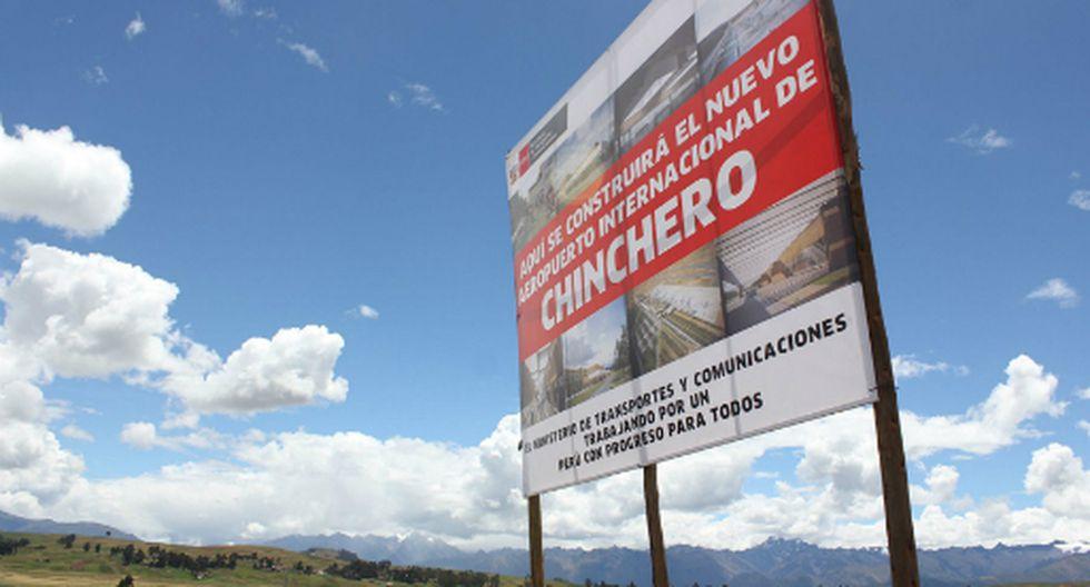 El gobierno busca sacar adelante el proyecto del aeropuerto de Chinchero como obra pública. (Foto: Andina)