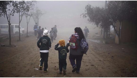 """""""Si bien la humedad registrará por encima del 90 %, en algunos casos llegará al 100 %"""", dijo Nelson Quispe de Senamhi. (GEC)"""
