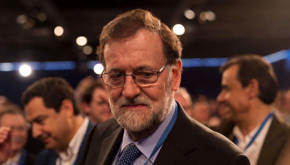 Mariano Rajoy, expresidente de España. (Foto: EFE)